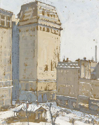 Union Square in Winter
