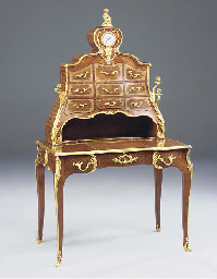 A French ormolu-mounted kingwo