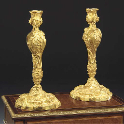 A large pair of Louis XV style
