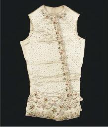 A gentleman's waistcoat of cre