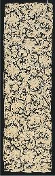 A panel of Gros Point de Venis
