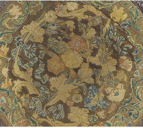 A composite circular embroider