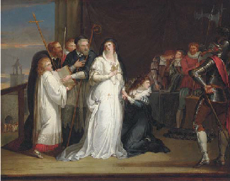 Mary, Queen of Scots, taking h