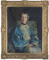 Portrait of Mrs Agnes Innes, n