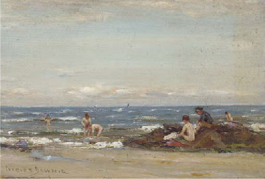 Bathers, Firth of Clyde