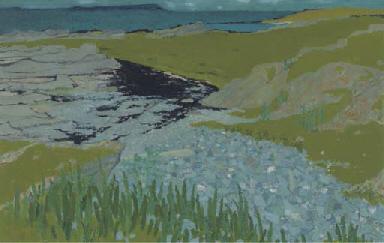 Rocky coastal landscape
