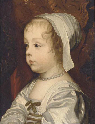 Portrait of a young girl, thou