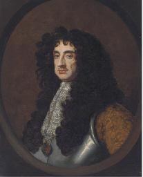 Portrait of King Charles II, b