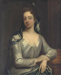 Portrait of Elizabeth Hervey,