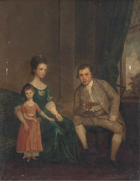 Group portrait of husband and