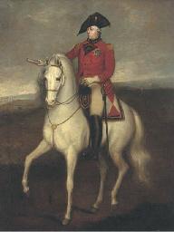 Equestrian Portrait of King Ge