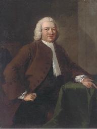 Portrait of Benjamin Day, seat