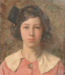 Portrait of Barbara Hall, the