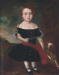 Portrait of a girl, full-lengt