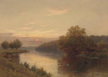 Dusk, Hurley on Thames