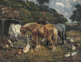 In the farmyard
