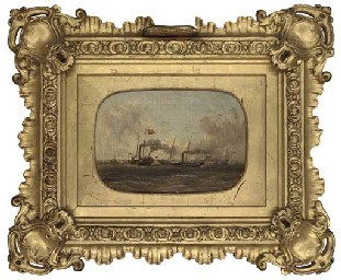 The Royal Yacht Victoria and A