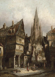 Morlaix, Brittany; and Hildesh