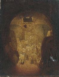 Drunken sailors in a wine cell