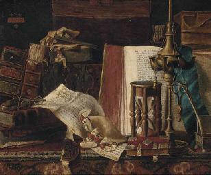 The bibliophile's desk