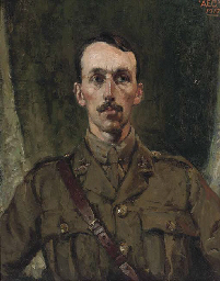 Portrait of an officer from th