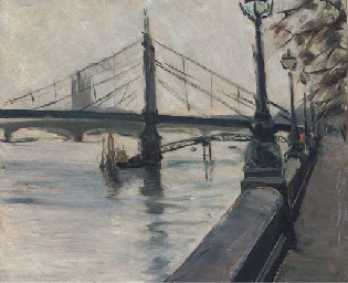 The Thames from the Embankment