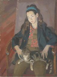 Carina and Thomasina; Portrait