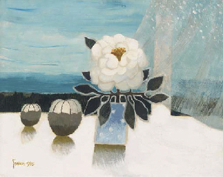 Still life with a camellia