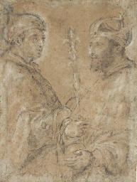 Le doge Giani avec l'empereur