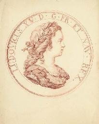 Portrait du jeune Louis XV de