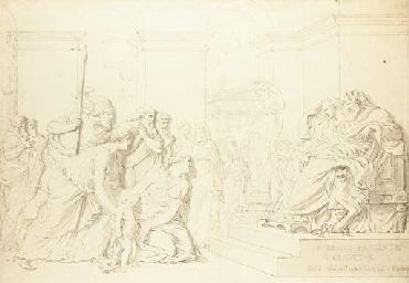 Pyrrhus présenté à Glaucias