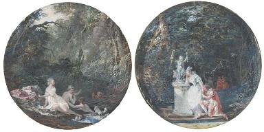 Diane et Actéon; et Un couple