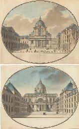 L'église de la Sorbonne du côt