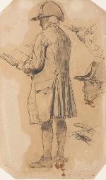 Un homme vu de dos avec un tri