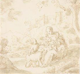 La Sainte Famille avec Saint J