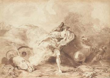 Cadmus et le dragon