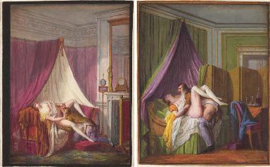 Deux scènes érotiques: Une fem