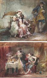 Une scène de Manon Lescaut; et