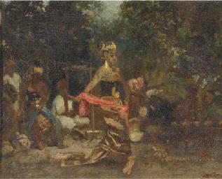 Javaansche Danseres - Dancer f