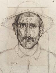 Portrait of an Italian farmer