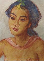 Portrait of Madèh Pergi, the w