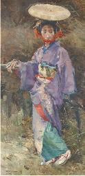 Japansche Dame - Japanese Lady