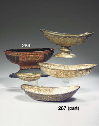 (4) four balinese repousse sil