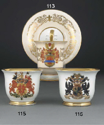 A German armorial cabinet cup