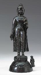 A Rare Bronze Figure of Buddha