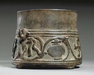 A Rare Bronze Ceremonial Vesse