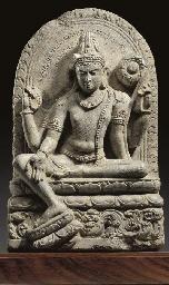 A Black Stone Stele of Padmapa