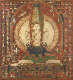 A Large and Important Thangka
