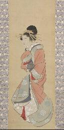 A kakemono, 19th century