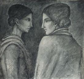 OPPI, Ubaldo. Due donne di fro